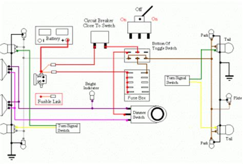 cj7 turn signals switch diagram cj7 wiring diagram and