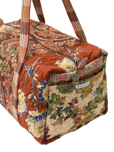 harvest riches patchwork duffle bag accessories bags