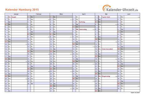 Calendario Ist 2015 Feiertage 2015 Hamburg Kalender