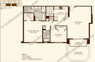 Condo Floor Plan by Villa Zamora Coral Gables Condo Floor Plans