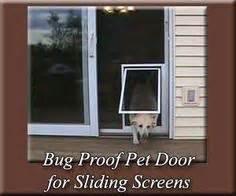 Pet Door For Screen Patio Door Sliding Screen Doors On Screen Doors Screens And Screened Porches