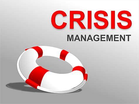 crisis management ppt diagrams amp chart amp design id