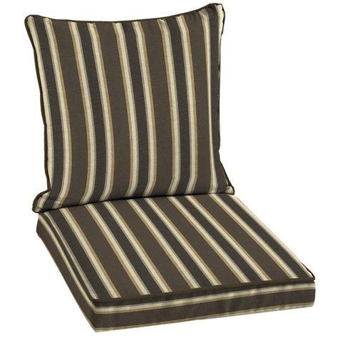 hton bay rea stripe welted 2 seating outdoor