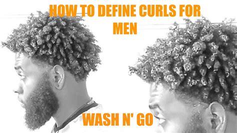 New Curly Brush For Men | my wash and go tutorial bmazin detangler brush method
