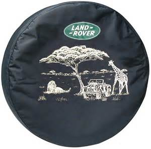 spare tire cover land rover safari design genuine part