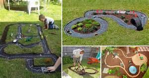 Backyard Race Backyard Projects For Diy Race Car Track