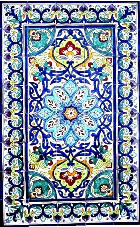 mosaic wall murals painted mosaic murals mediterranean tile orlando by ceramic tiles mosaic wall murals