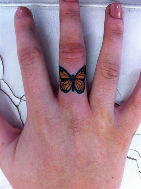 flower ring tattoo designs floral finger ring