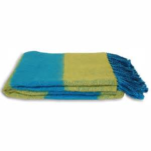 throws for armchairs 100 cotton blue and green chenille throw 127x180 cms for
