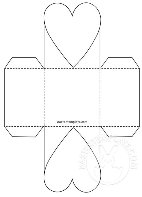 easter bunny basket template printable basket template easter template