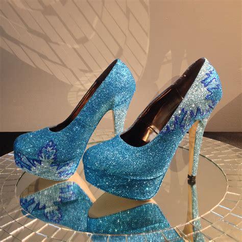 elsa high heels frozen elsa inspired high heel shoes