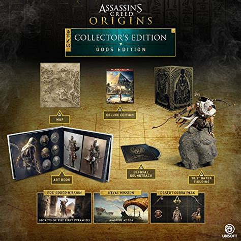 along with the gods release schedule assassin s creed origins gods collector s edition release