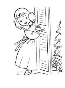 girl     christmas presents coloring page supercoloringcom