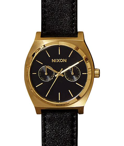 Nixon A9271604 Time Teller Deluxe nixon time teller deluxe leather analog