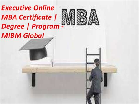 What Is An Executive Mba Degree by Executive Mba Degree Programs Courses In A