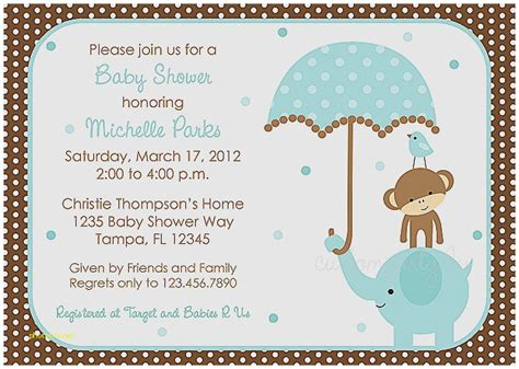 Design Own Baby Shower Invitations by Baby Shower Invitation Fresh Design Your Own Baby Shower