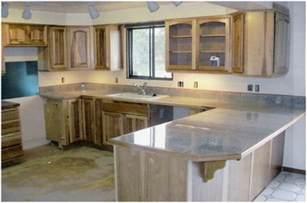 L Shaped Countertop Eco Friendly Granite Tile Countertops Ecofriend