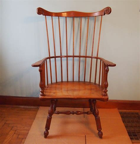 leopold stickley style chair ebth