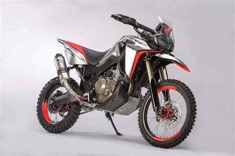 Honda Motorrad Enduro by Oh My The Honda Africa Twin Enduro Sports Concept