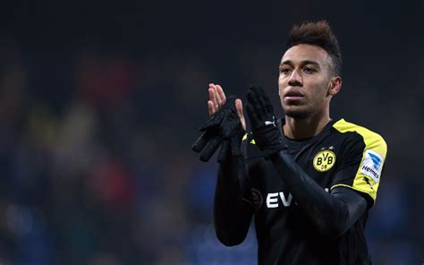 dortmund haircut image pierre emerick aubameyang shows commitment to
