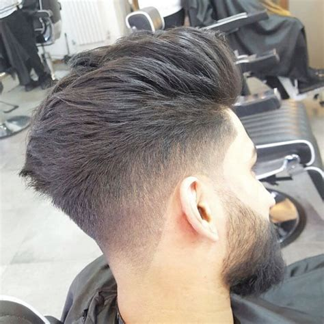 single level haircut with tapered ends 72 comb over fade haircut designs styles ideas
