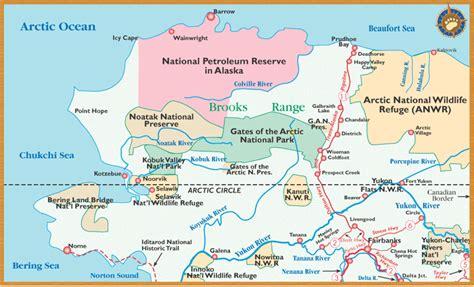 arctic circle alaska get an alaska map maps by bearfoot guides maps of