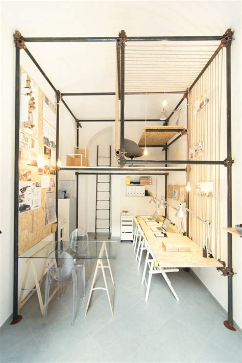 Structures And Interiors by 14 Sqm Architecture Office Featuring An Pipe