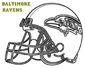 nfl color nfl coloring pages baltimore ravens coloringstar