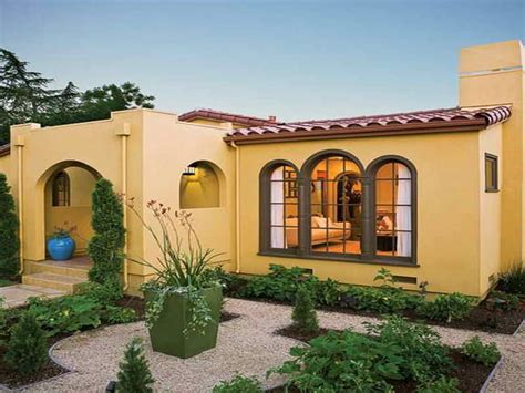 Luxury Spanish Style Homes | architecture spanish style luxury homes with yellow