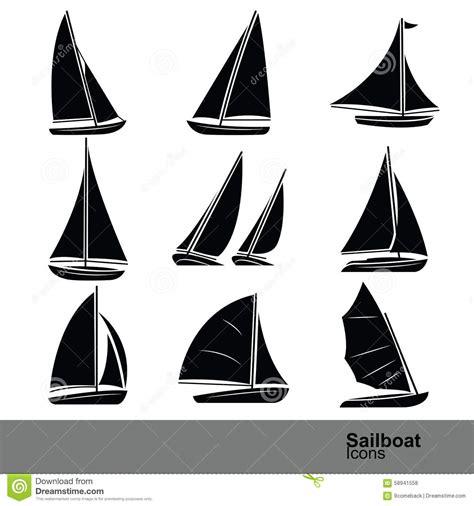 sailboat vector art sailboat vector stock vector illustration of boats water