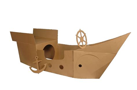 cardboard pirate ship template learning from play
