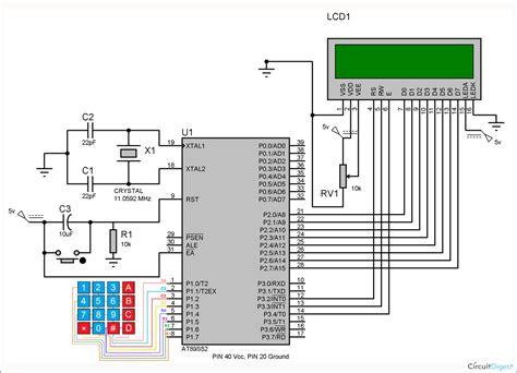 arduino keypad wiring diagram arduino keypad lock wiring