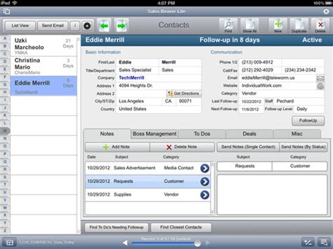 filemaker go templates solutions showcase in learning filemaker scoop it