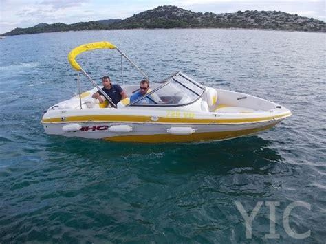 yellow tahoe boats small boat charter tahoe q4 ss yellow yachts in croatia