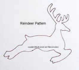 reindeer template best photos of felt reindeer patterns printable free