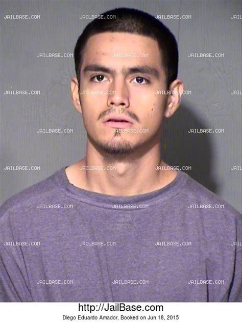 Amador County Arrest Records Diego Eduardo Amador Arrest History