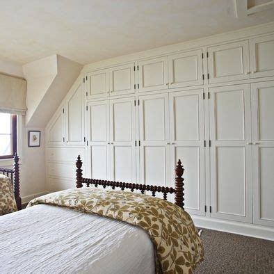 bedroom with built in closet wall farmhouse