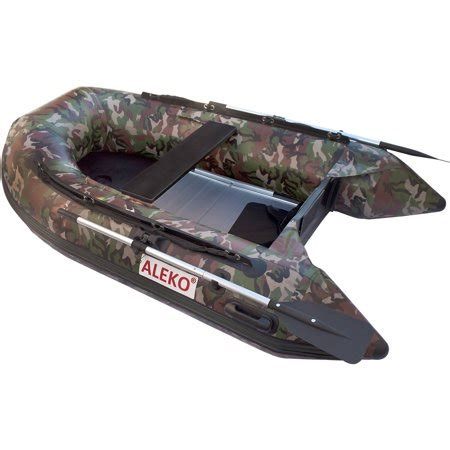 inflatable boat walmart aleko inflatable boat aluminum floor 3 person 8 4