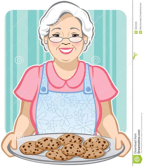 imagenes groseras de abuelas galletas de la abuela ilustraci 243 n del vector ilustraci 243 n