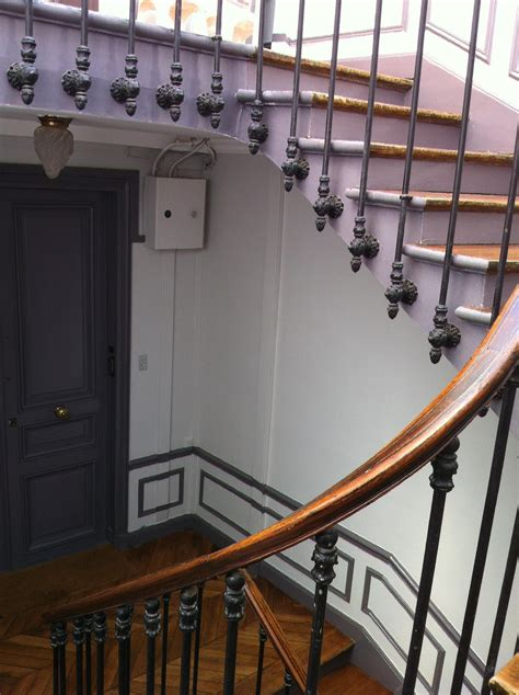 Peindre Cage Escalier Tournant by Idee Peinture Cage Escalier Peinture Montee