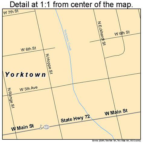 yorktown texas map yorktown texas map 4880584