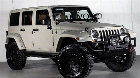 Customised Jeeps For Sale Custom 2013 Jeep Wrangler Unlimited By Starwood Custom For