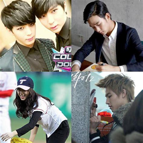 Piring Pajangan Dari Korea Selatan artis korea selatan yang kidal dari soo hyun hingga jb got7