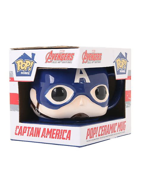 Funko Pop Tees Captain America Marvel Captain America 3 Civil War funko marvel captain america pop mug topic