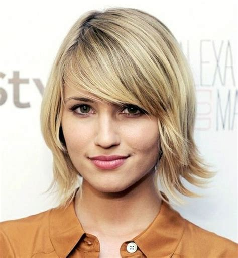 very long shaggy hairstyle with side swept bangs for a pear shape face best short bob haircut 2012 2013 shoulder length