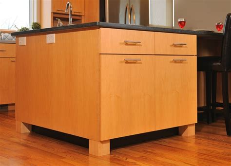 almamade solid maple kitchen island mullet cabinet contemporary maple kitchen