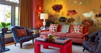 living room mural sophisticated elegance of chinese interiors