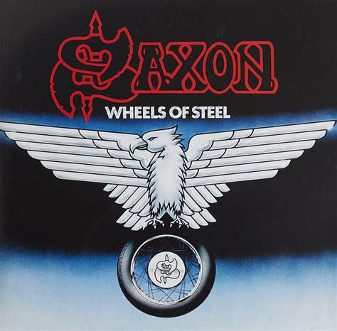 Kaos Fangkeh Saxon Wheels Of Steel 1980 best heavy metal albums