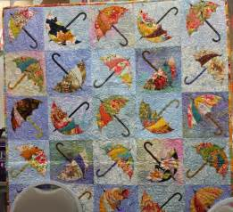Umbrella Quilt Pattern by Beautiful Quilting On An Umbrella Quilt Pc Something
