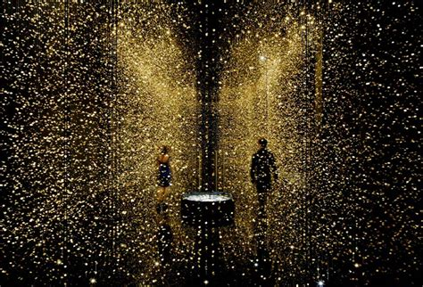 Time Lights by Light Is Time Shimmering Installation Made From 65 000
